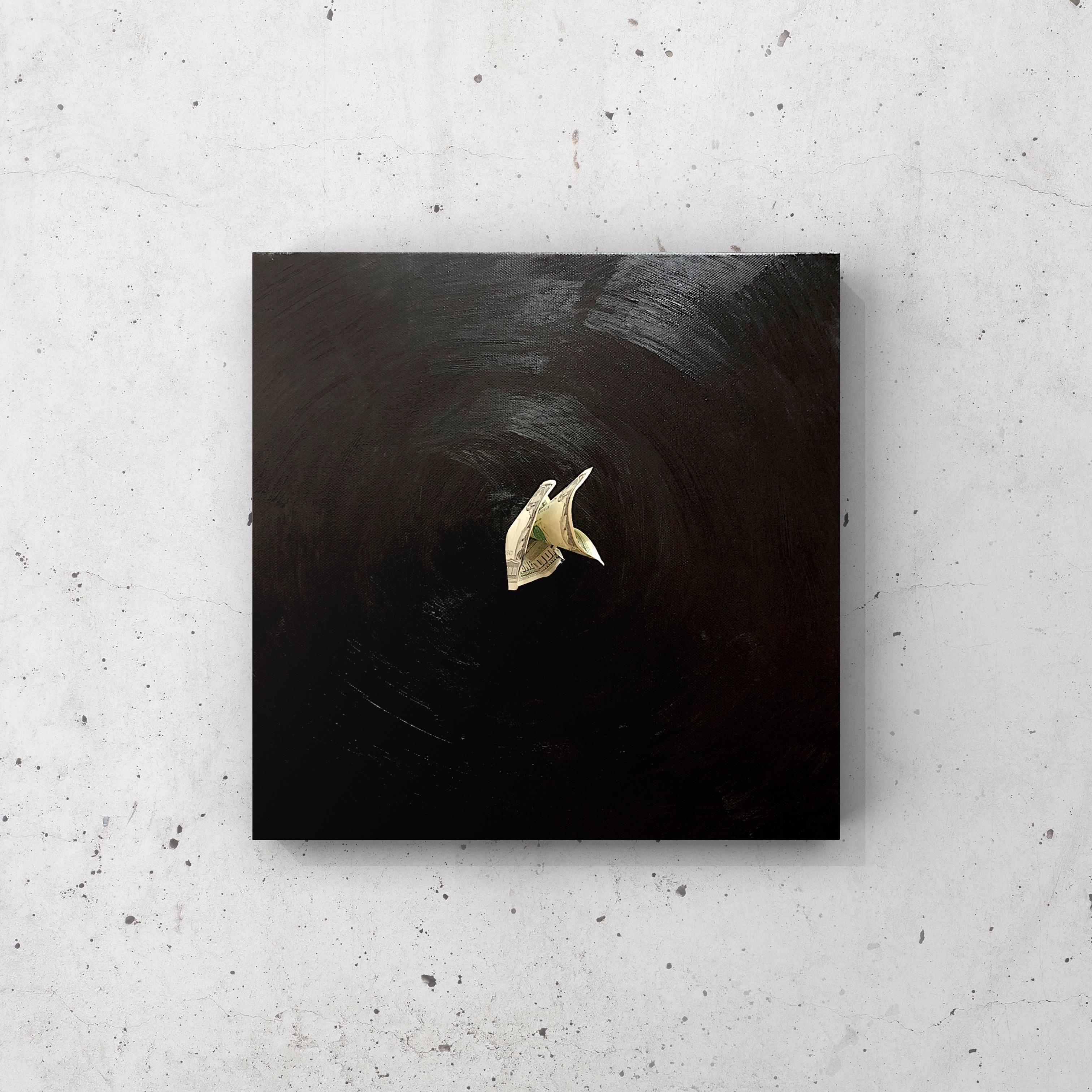 Картина «Чёрная дыра», 2019. Художник: Colonel Royce