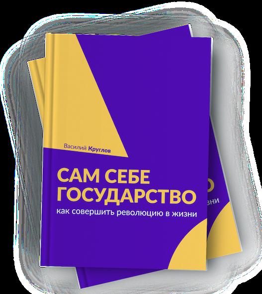 Книга Василия Круглова «Сам себе государство. Как совершить революцию в жизни»